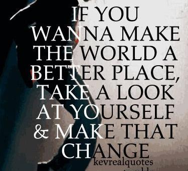 Time To Make A Change