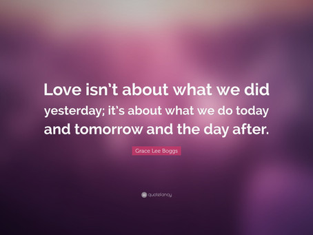 "The day after ""Love Day""!"