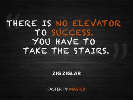 No shortcuts to success!