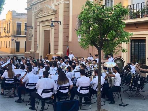 Concert d'intercanvi amb la Banda Unió Musical de Pescadors al Cabanyal