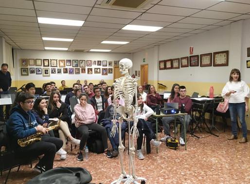 Xerrada sobre fisioteràpia aplicada a la música