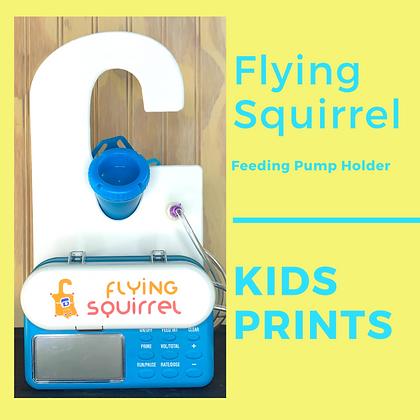 Kid Prints - Flying Squirrel Feeding Pump Holder