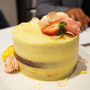 Lemon + Passion Fruit Cake