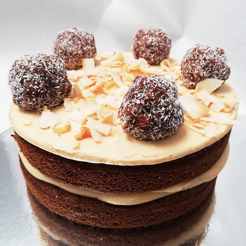 ROOIBOS + COCONUT CAKE