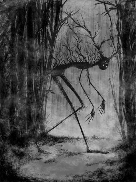 Walking tree.