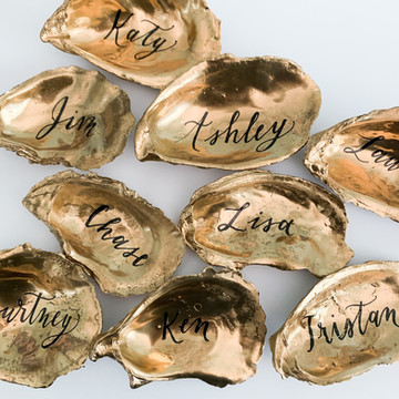 Oyster Shell Place Cards