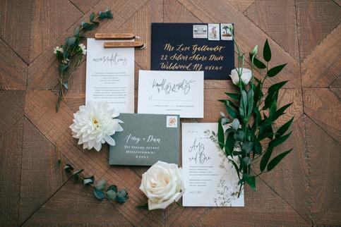 Invitation Calligraphy