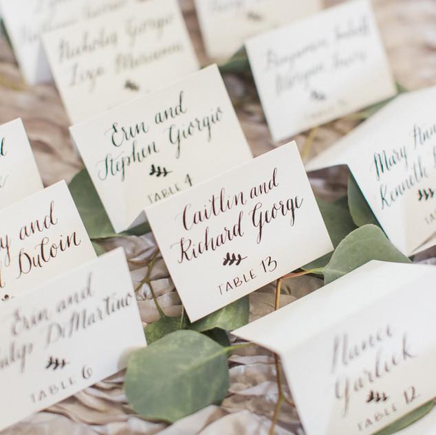 Wedding Escort Cards