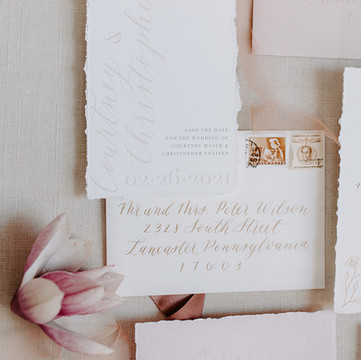 Calligraphy Envelope and Spot Calligraphy