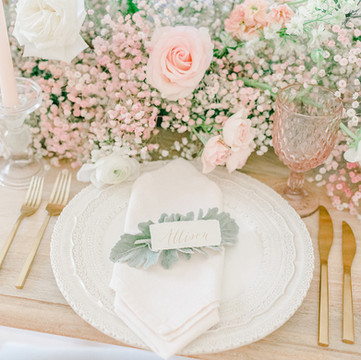 Handmade Paper Place Cards