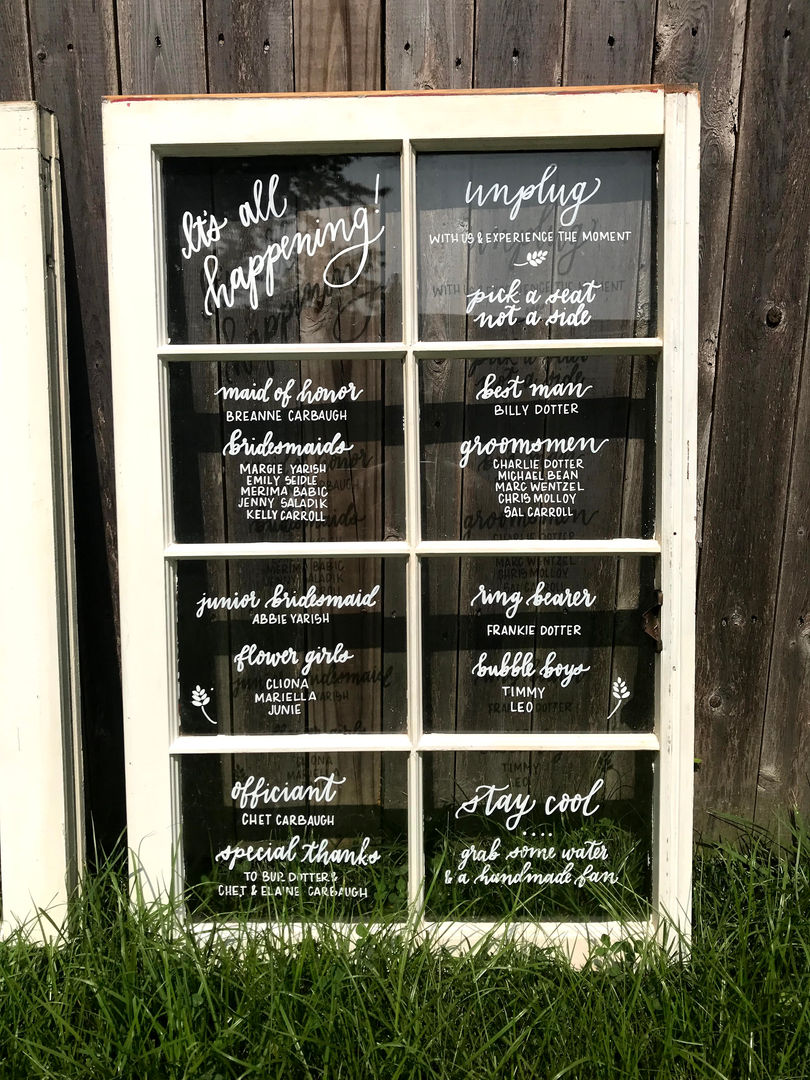 AlliCat Calligraphy Rentals