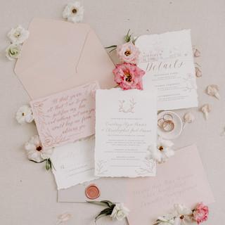 Calligraphy Invitation Suite