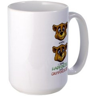 "Mug: ""I Choose Happiness over Grumpiness!!!"""