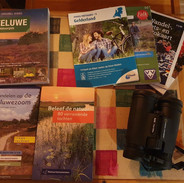 Walking and nature guidebooks for the Veluwe