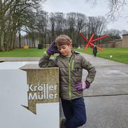 Kroller Muller Museum, Hoge Veluwe