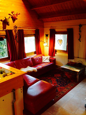 Gezelleig snug, living room ,Gingerbread Huis