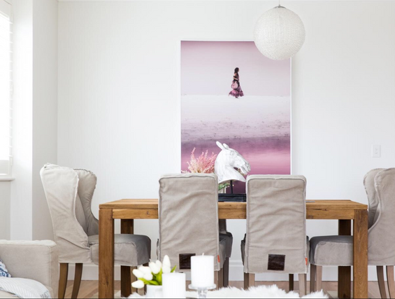 Breakfast Point Property Styling Dining Room