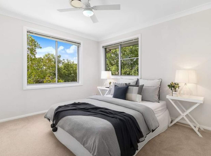 Property Styling Bella Vista Guest Bedro