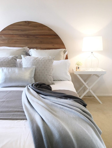 Property Styling Kellyville Master Bedroom
