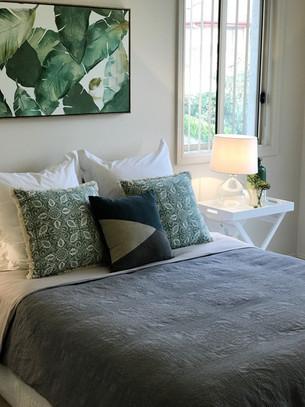 Stanhope Gardens Property Styling Master Bedroom