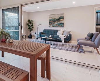 Pitt Town Property Styling Lounge Room