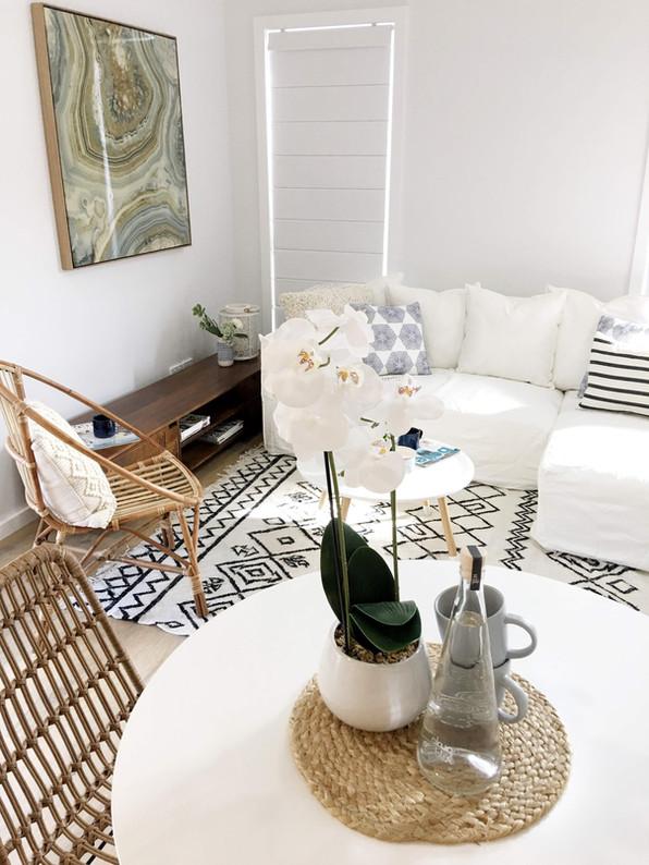 Hamptons Granny Flat Lounge Room