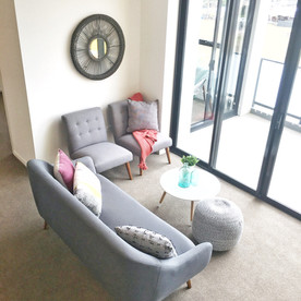 Kellyville Property Styling Apartment Living Room