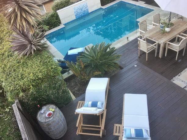 Lower Outdoor Terrace