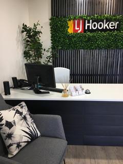 LJ Hooker Reception Desk