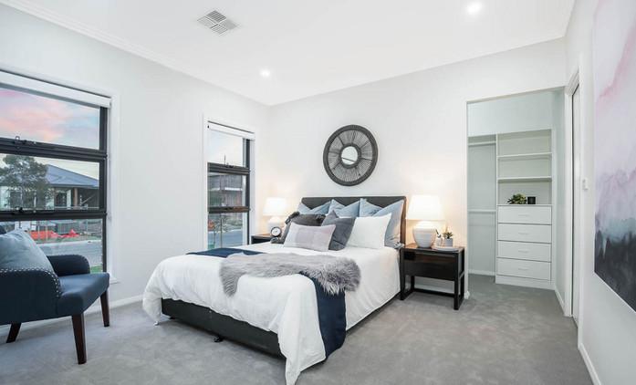Marsden Park Property Styling Master Bedroom