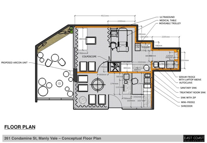 Doctor's Office Plan Manly Vale