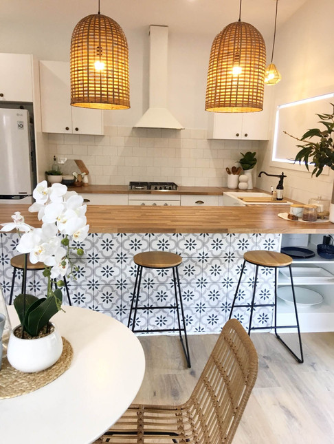 Hamptons Granny Flat Kitchen