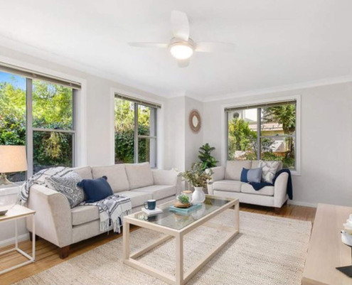 Property Styling Bella Vista Living Room