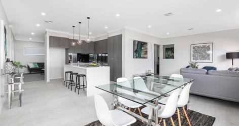 Marsden Park Property Styling Dining Room