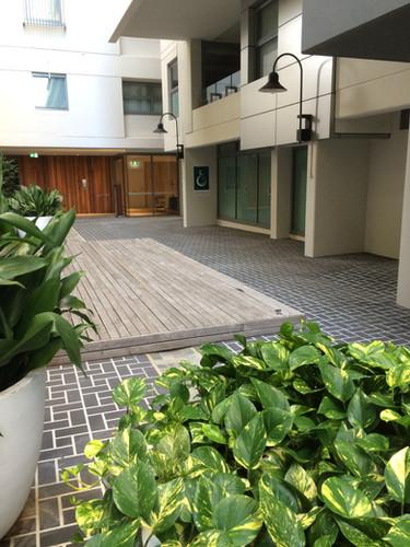 Courtyard, Crows Nest