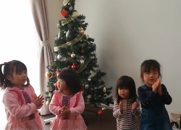 クリスマスパーティーを行いました