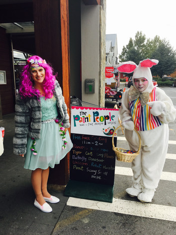 Easter Bunny and Fairy