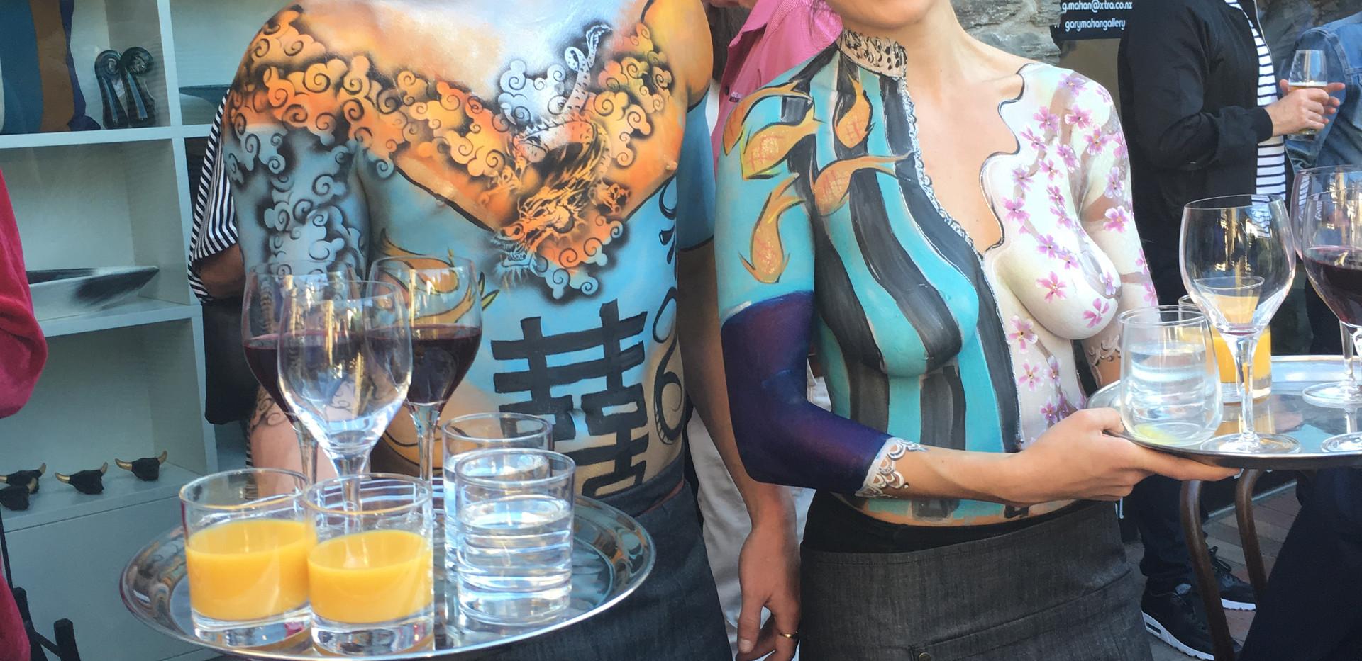 Asian Fusion Body Art