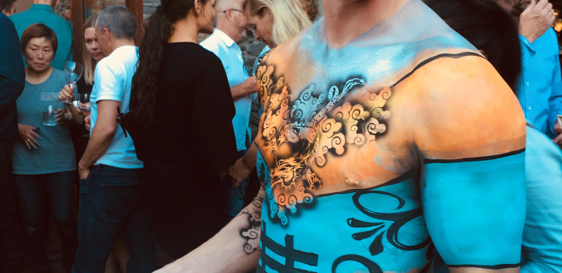 Asain Fusion Body Art