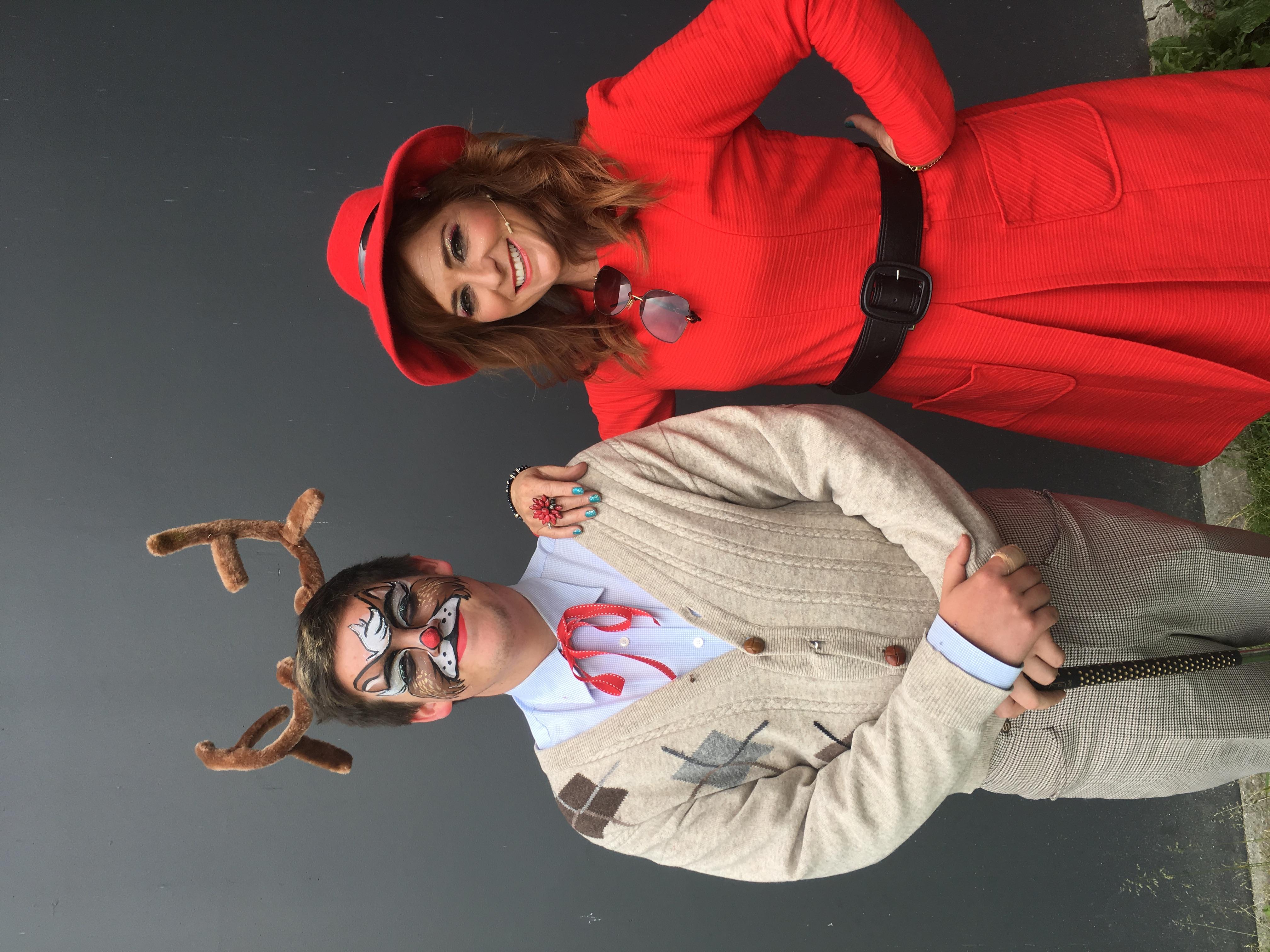 Rudolf & Mrs Claus