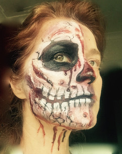 Zombie with SFX Make Up