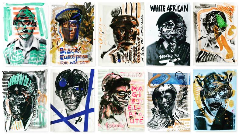 Black european, White African, 2019