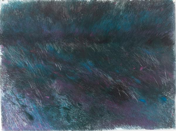 The dark valley II (from de quarentine Series), 2020