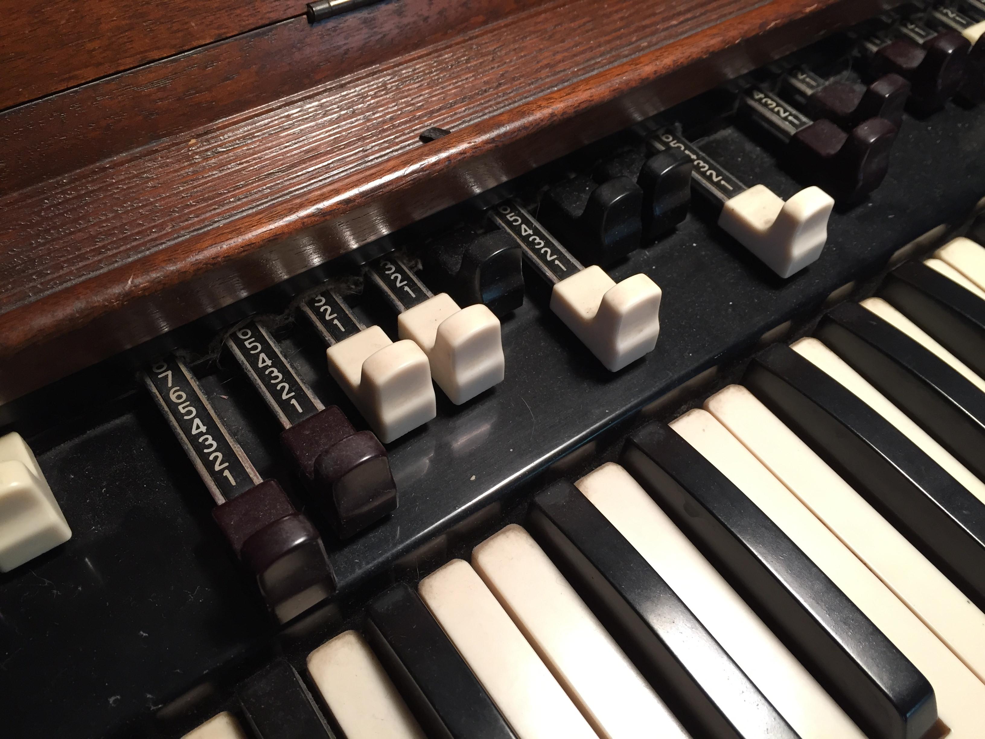 HamOrg (Drawbar Organ Sample Library)