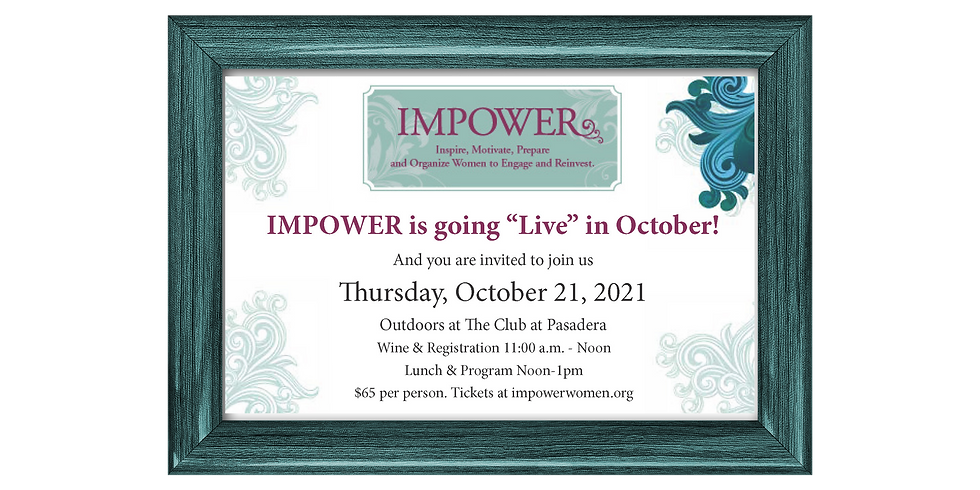 IMPOWER Luncheon with Mary Adams, Monterey County Supervisor