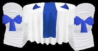 Table thématique bleu