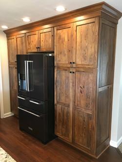 Rustic Hickory Shaker Door