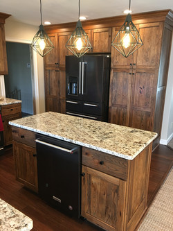 Rustic Hickory Weathered Finish