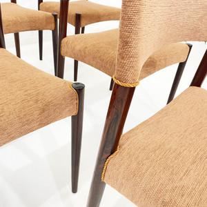 Conjunto 6 cadeiras anos 60