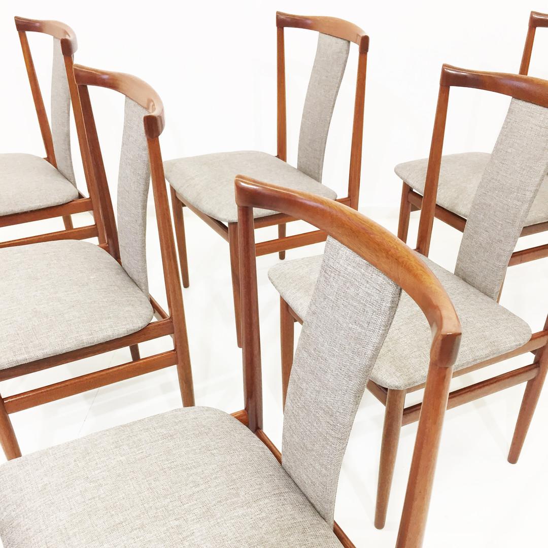 Conjunto 6 cadeiras Henning Sorensen
